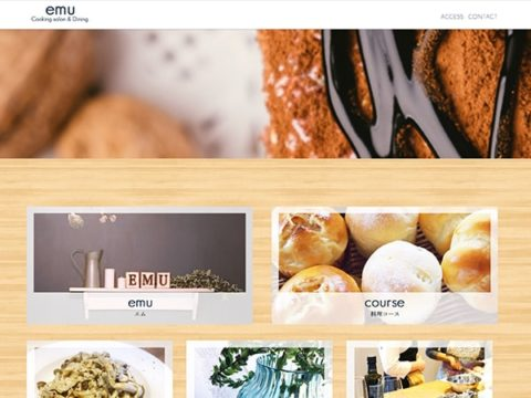 料理教室様 オフィシャルホームページ